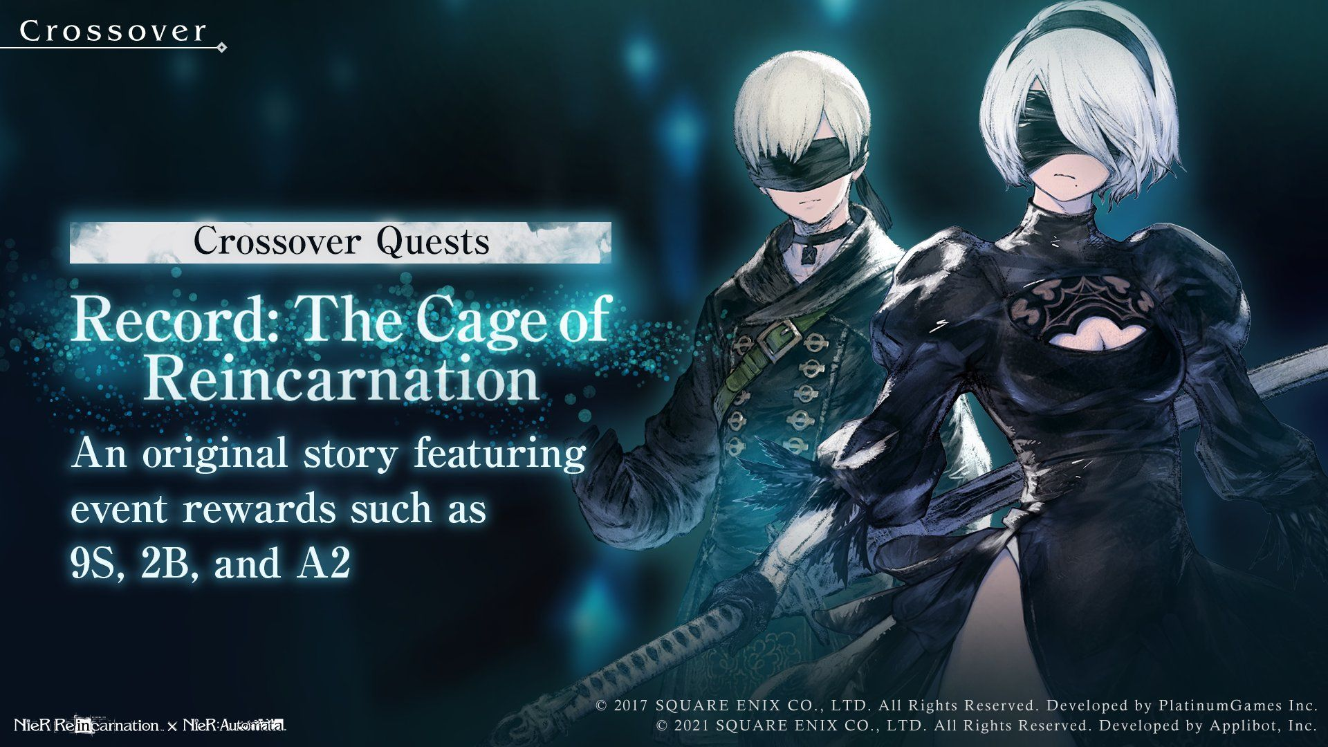Nier Reincarnation adds limited time characters 2B, 9S and A2 as part of Nier Automata crossover