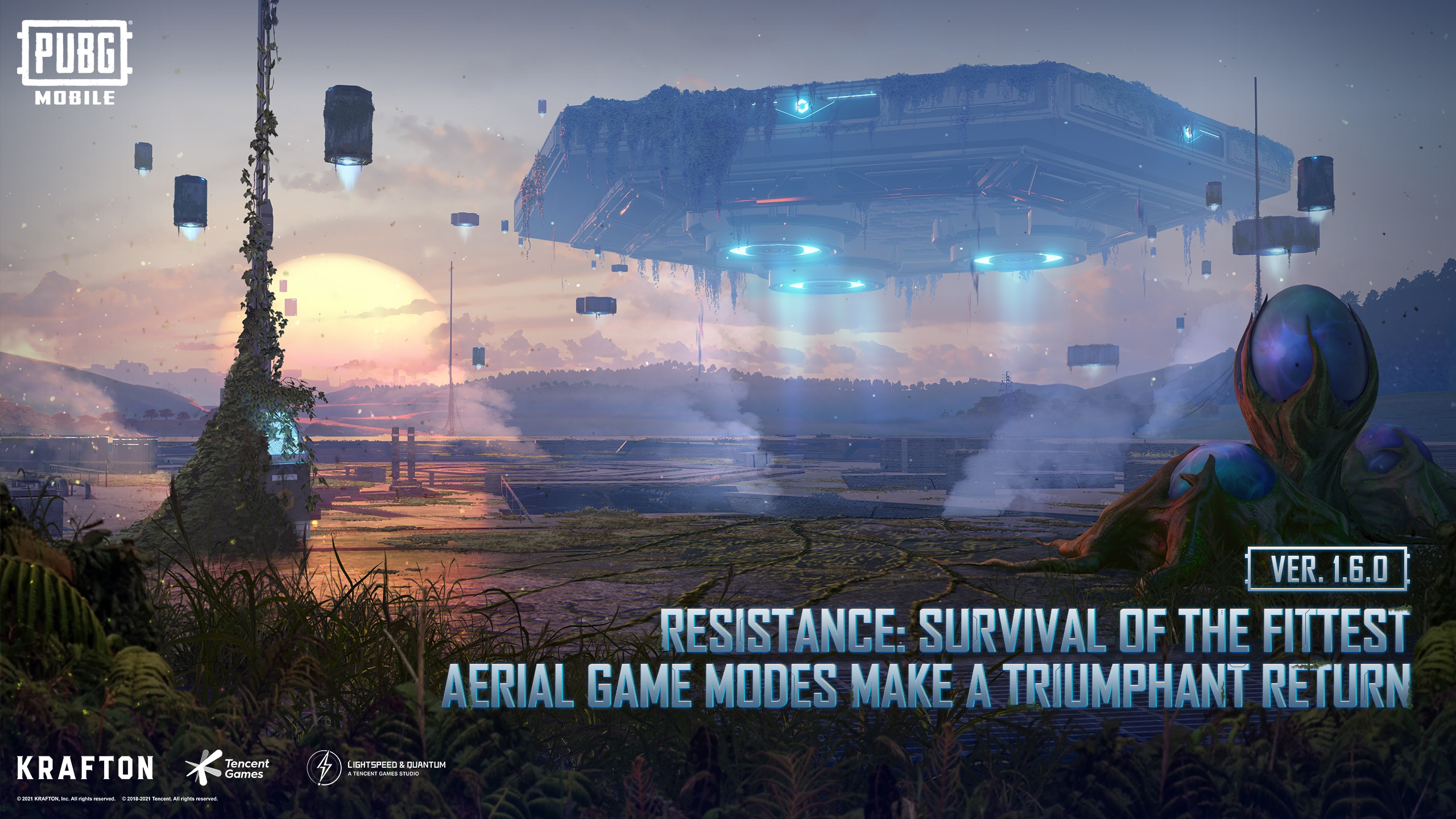 PUBG Mobile set to launch Resistance: Survival of the Fittest
