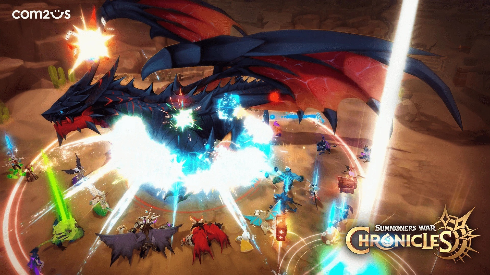 Summoners War: Chronicles to Add MMORPG Experience to Summoners War Universe