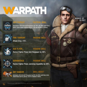 Developer War Room 3.0 adds Airforce feature, New Officers and more to Warpath