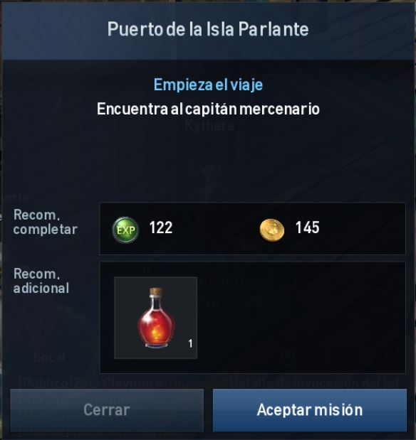 Lineage 2 Daily Mission Es