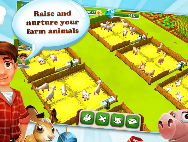 เล่น My Free Farm 2 on PC 4