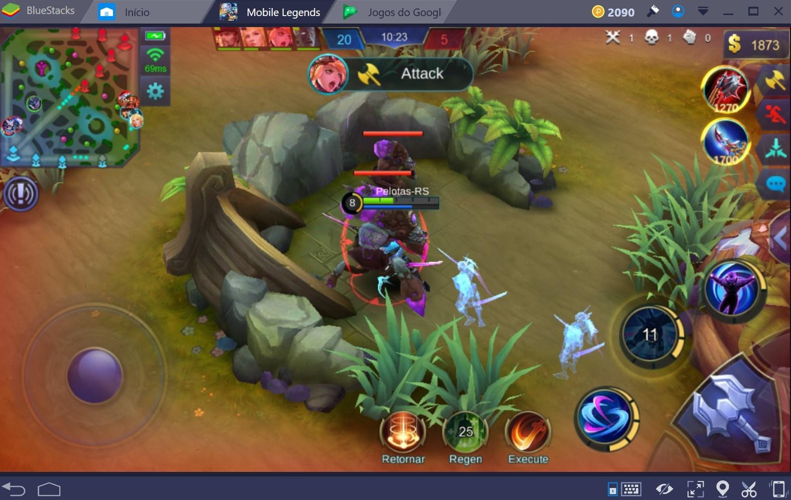 Como ser um bom Jungler em Mobile Legends: Bang Bang