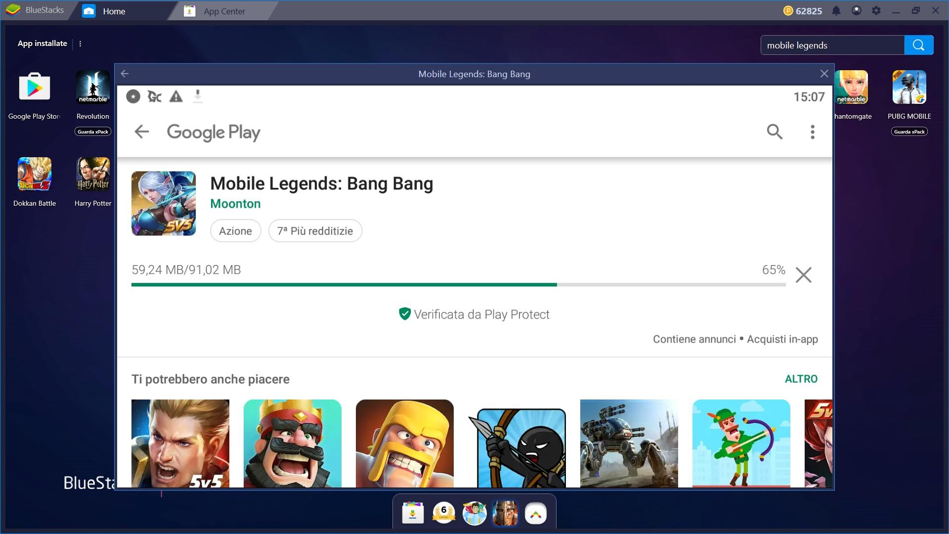 Gioca con Bluestacks a Mobile Legends: Bang Bang