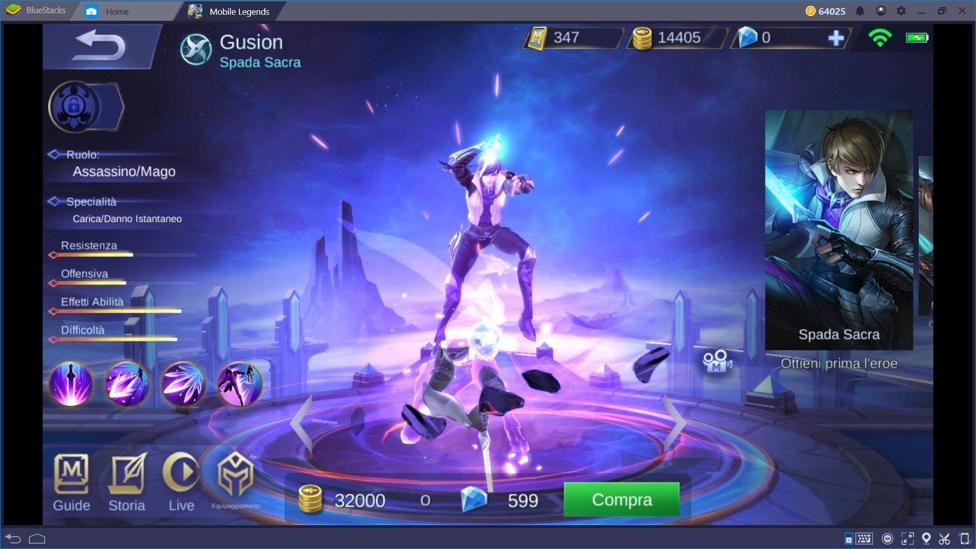 Guida all'acquisto degli Eroi in Mobile Legends: Bang Bang