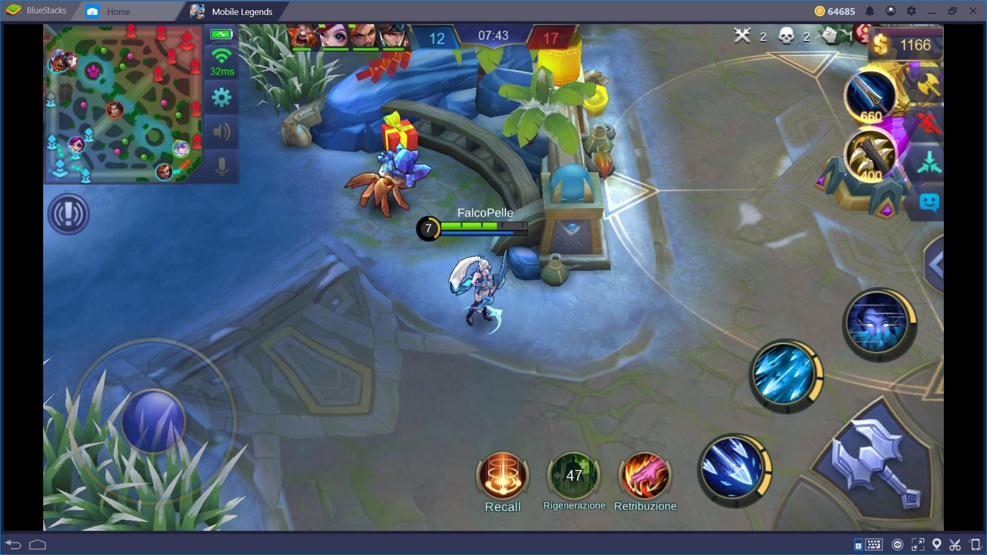 Affrontare le Corsie in Mobile Legends: Bang Bang