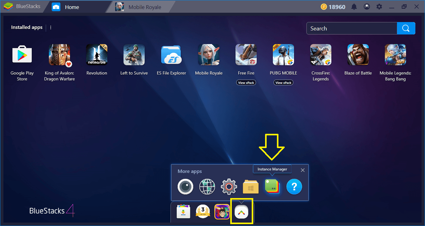 Como instalar e configurar Mobile Royale com BlueStacks