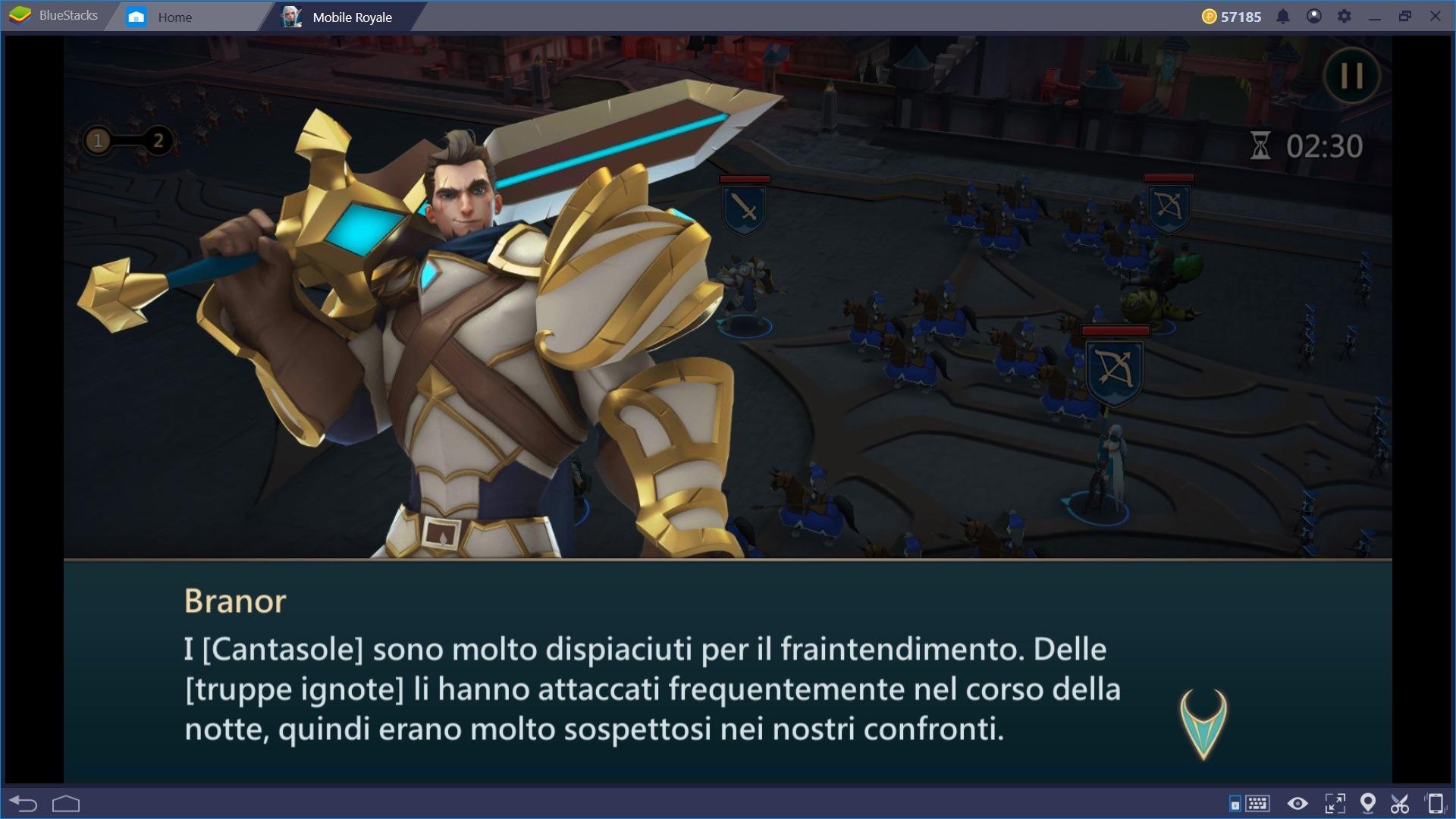 Mobile Royale: Guida agli Eroi