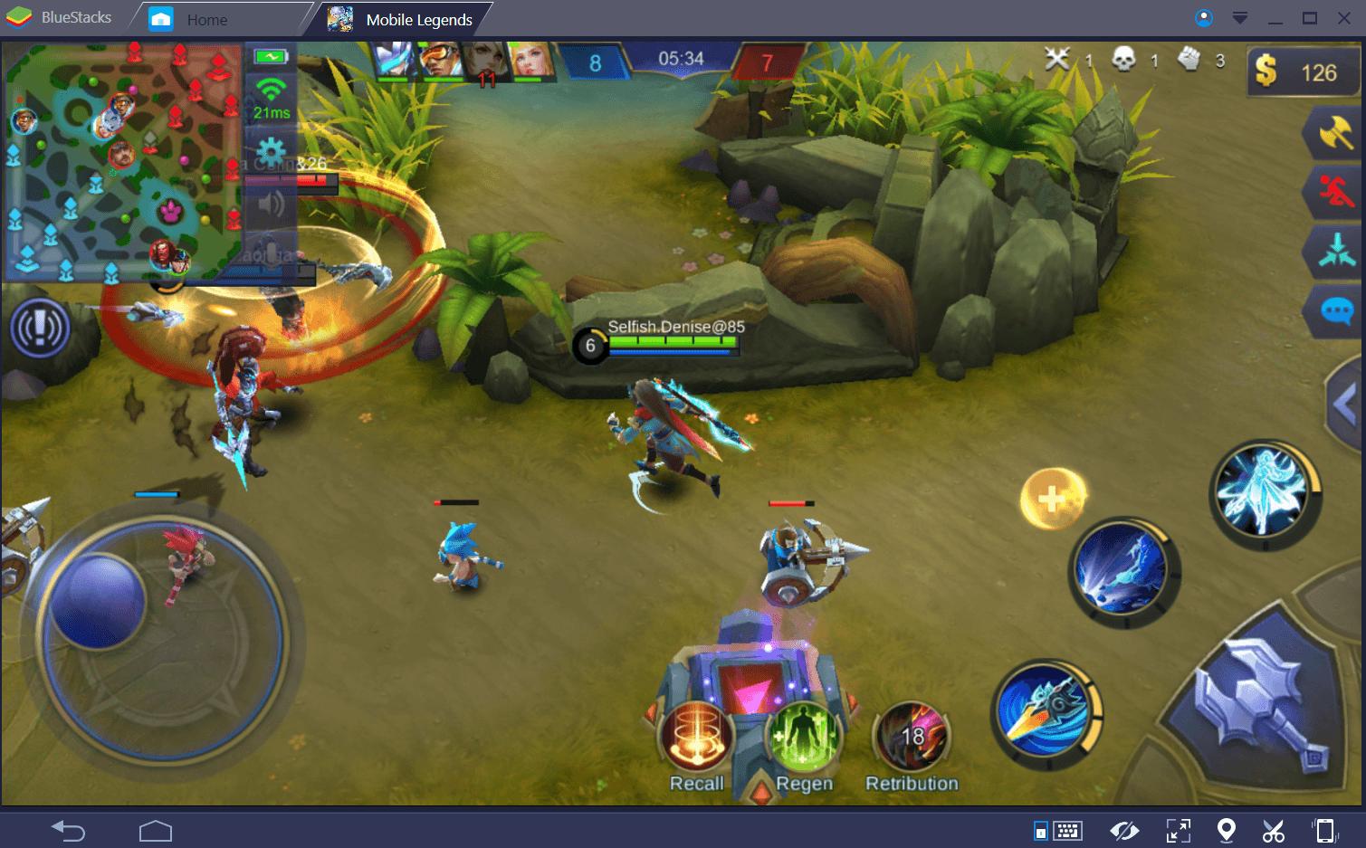Mobile Legends: Bang Bang دليل اللعب في الأدغال
