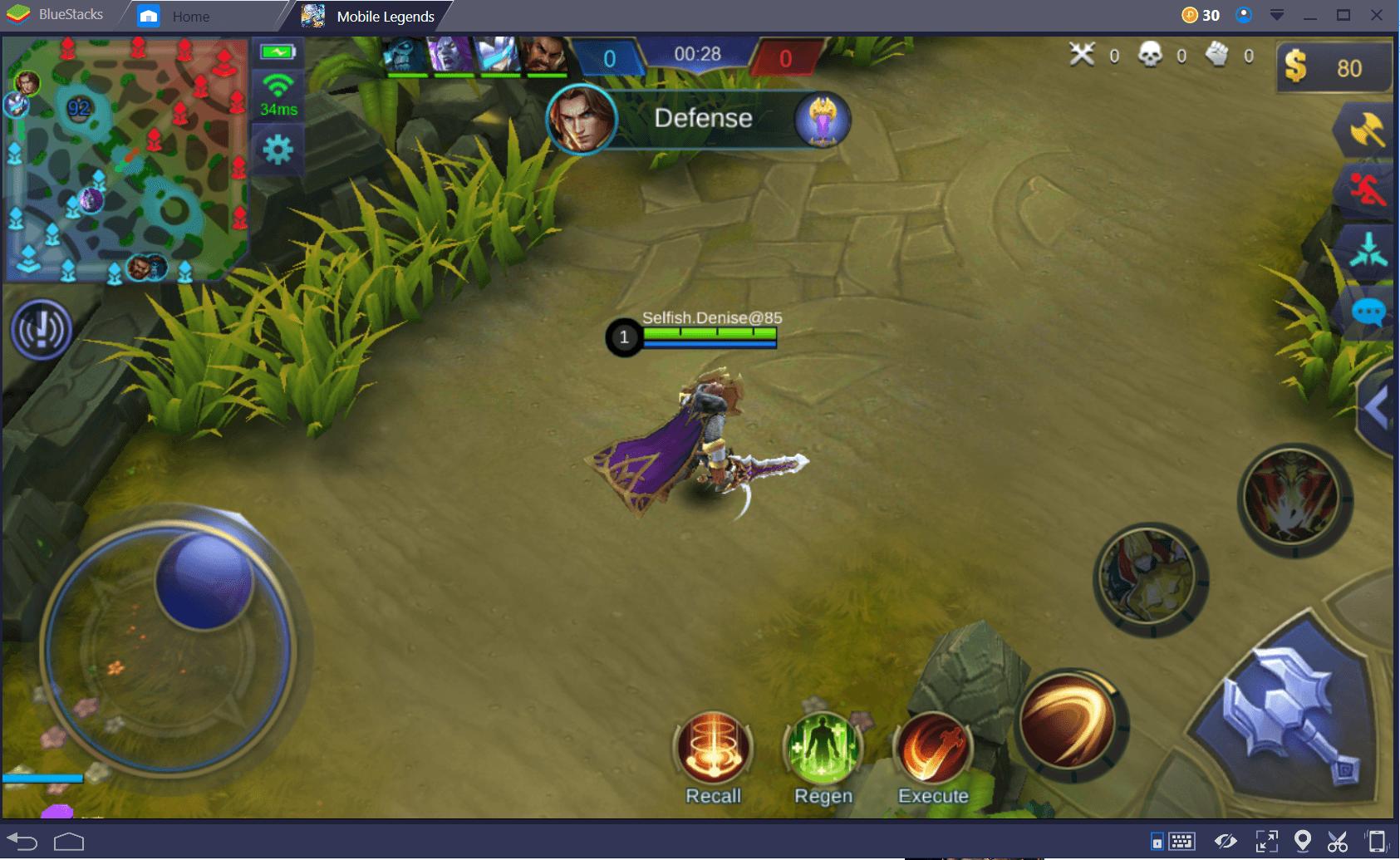 كيفية إتقان مرحلة الممر العلوي في لعبة Mobile Legends: Bang Bang