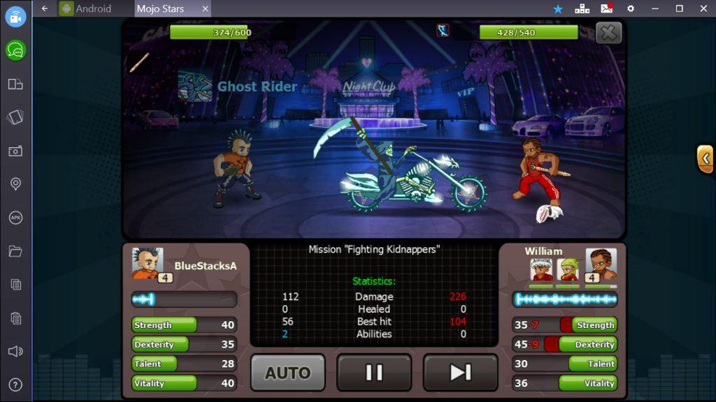 Mojo Stars - Attacking