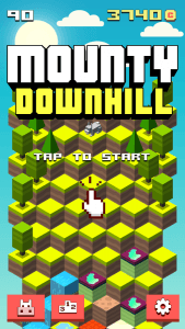 Mounty Downhill – an endless game easy to play yet deceptively difficult to master