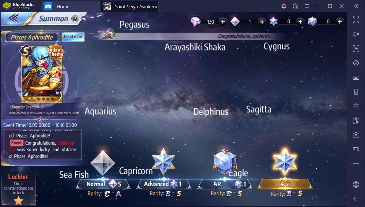 How to Use BlueStacks Instances in Saint Seiya Awakening