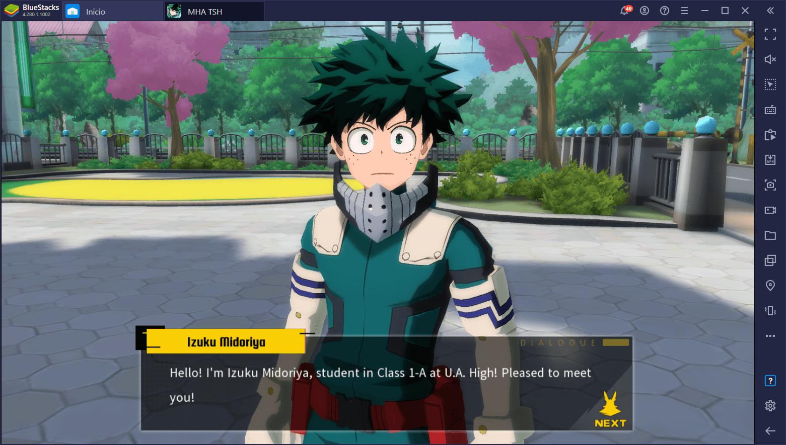 Cómo Instalar My Hero Academia: The Strongest Hero en PC con BlueStacks