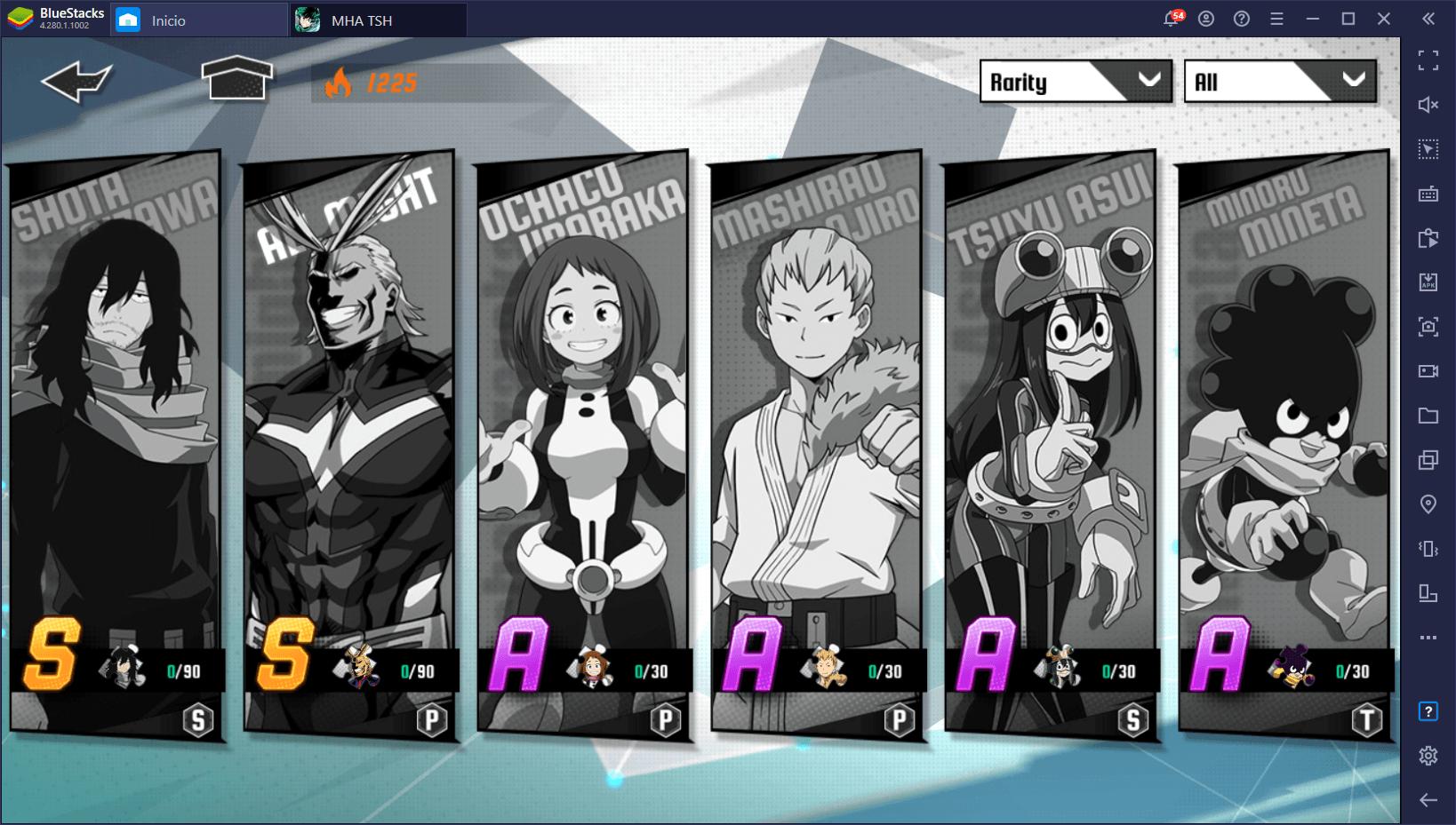 My Hero Academia: The Strongest Hero – Tier List Con los Mejores Héroes Para PvP y PvE
