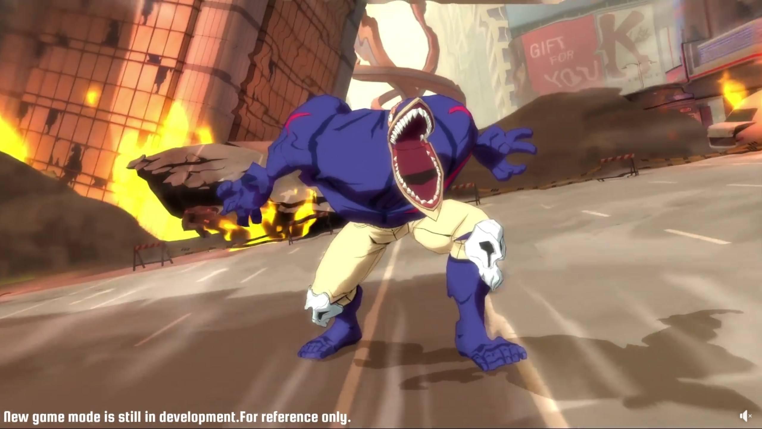 سيأتي وضع لعبة جديد إلى لعبة My Hero Academia: The Strongest Hero