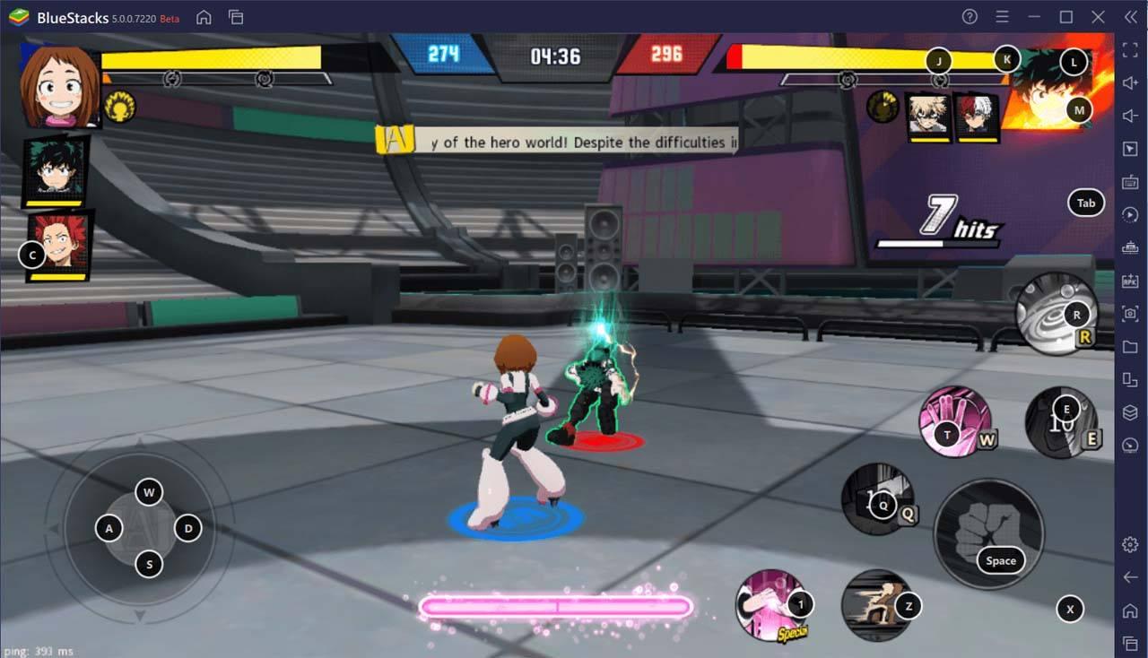 Как установить My Hero Academia: The Strongest Hero на ПК с помощью BlueStacks?