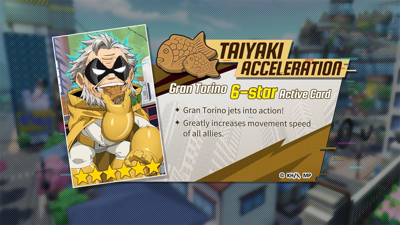 Gran Torino's Active Card is Now Available in My Hero Academia: The Strongest Hero