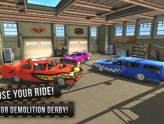 Play Demolition Derby Multiplayer on PC 3