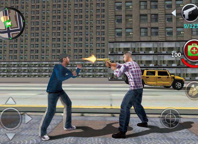 เล่น Grand Gangsters 3D on PC 4