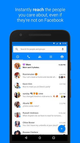 Main Facebook Messenger on PC 4