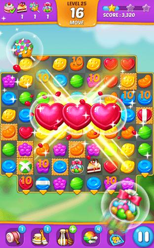 즐겨보세요 Lollipop: Sweet Taste Match 3 on PC 7