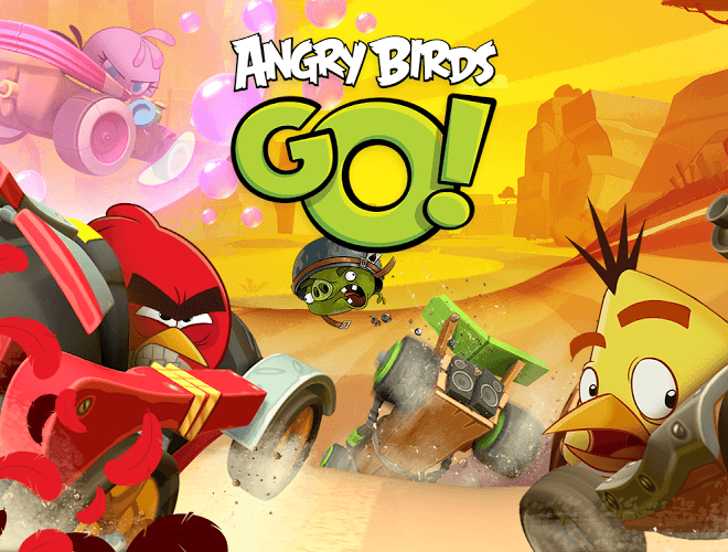 Play Angry Birds Go! on pc 3