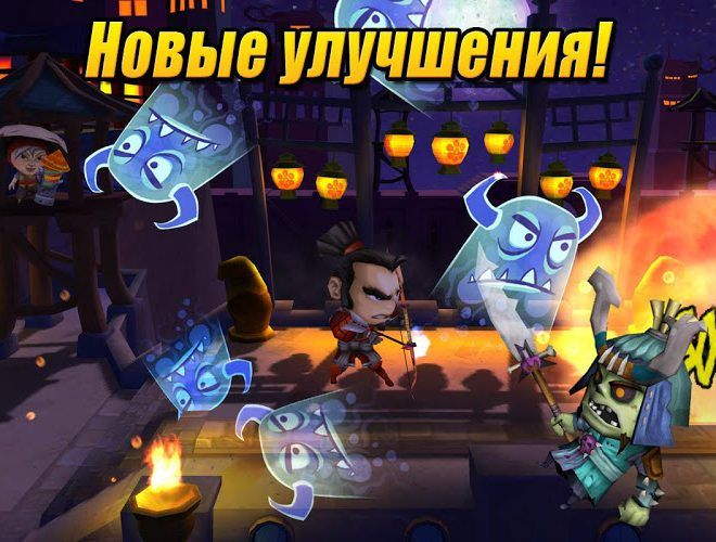 Играй SAMURAI vs ZOMBIES DEFENSE 2 На ПК 6