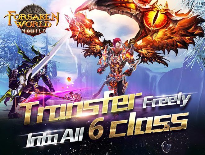 Play Forsaken World Mobile MMORPG on PC 5