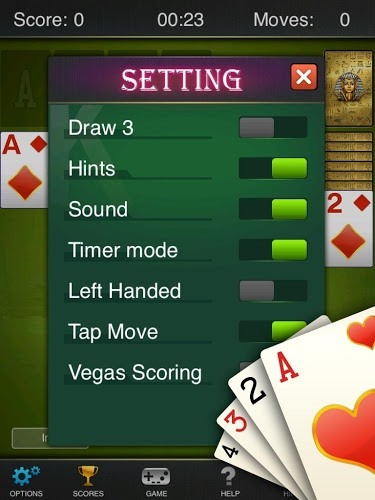 Play Solitaire: Pharaoh on PC 16