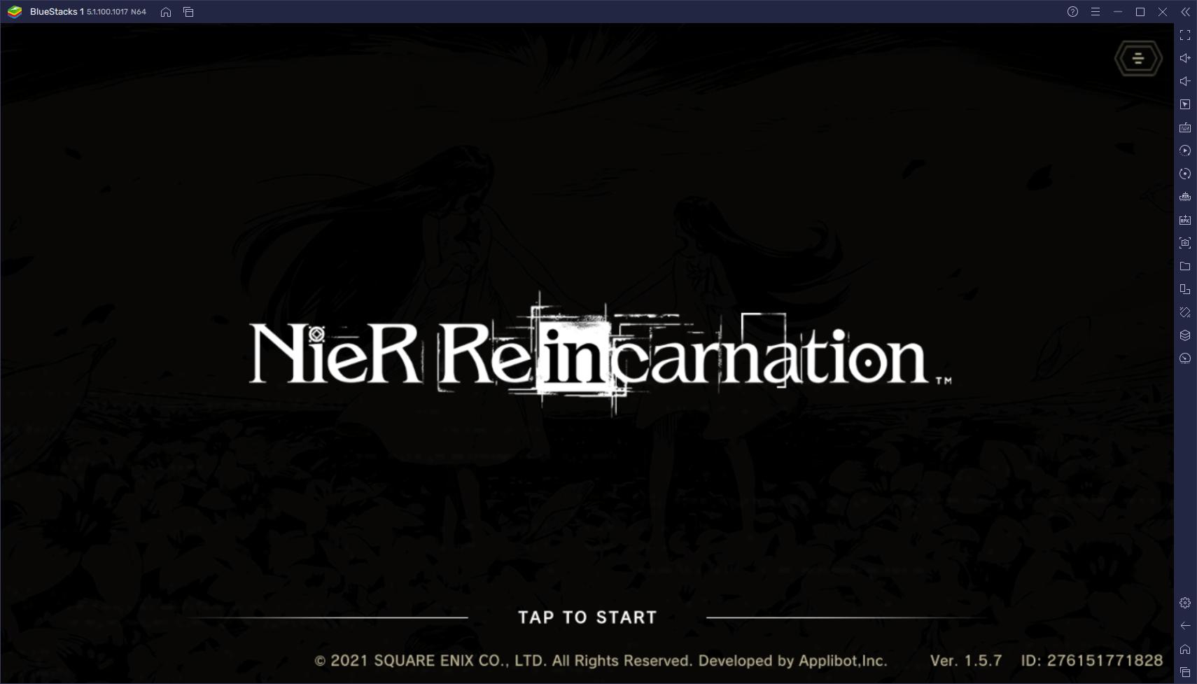 Le Guide du Reroll dans NieR Reincarnation – Comment Obtenir les Meilleurs Personnages dès le Début du Jeu
