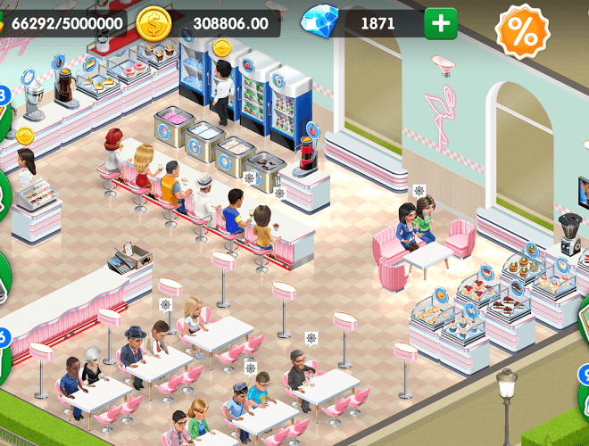 Play My Cafe Recipes & Stories on PC 7