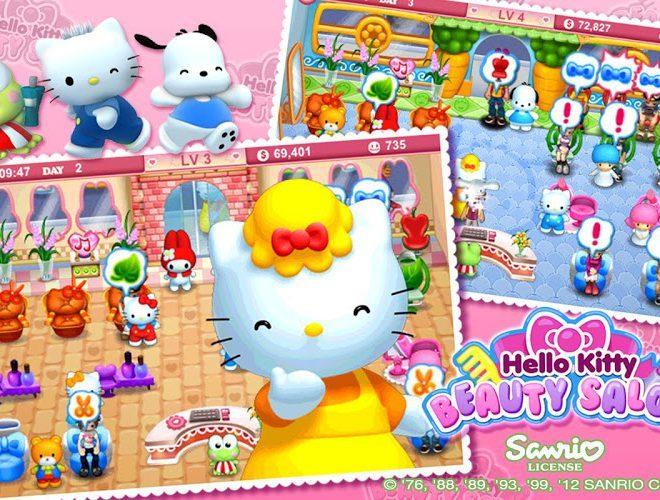 เล่น Hello Kitty Beauty Salon on PC 5