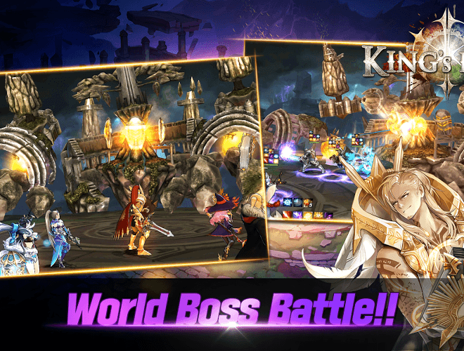 Play King's Raid on PC 12