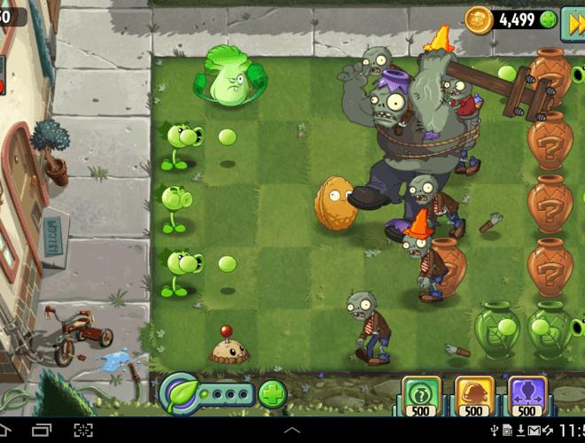 Spielen Plants vs Zombies 2 on PC 7