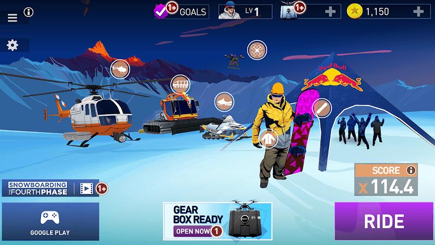 Играй Snowboarding The Fourth Phase На ПК 10