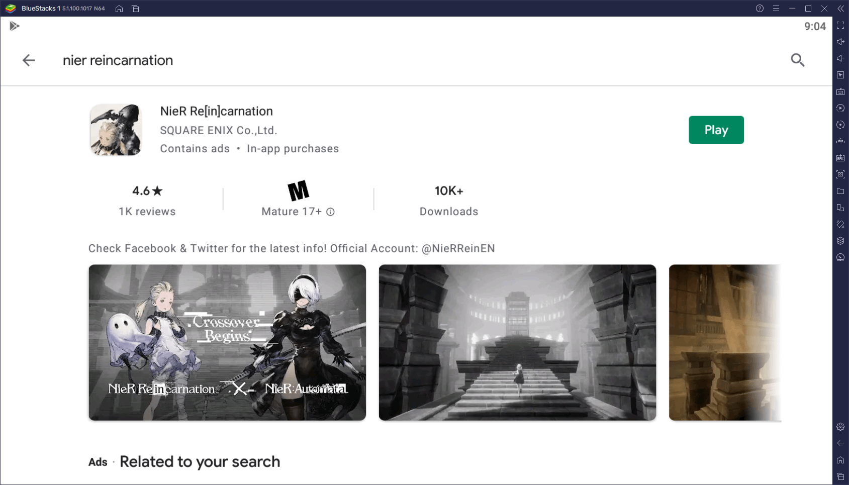 NieR Reincarnation – How to Play the New NieR Mobile Game on Your Computer