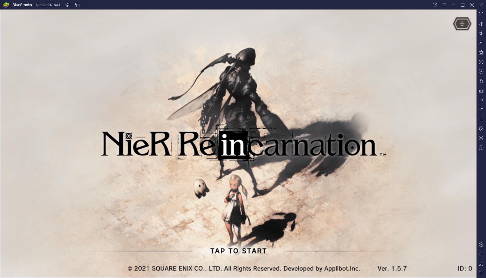 NieR Reincarnation – Comment Jouer au Nouveau Jeu Mobile NieR sur Votre Ordinateur