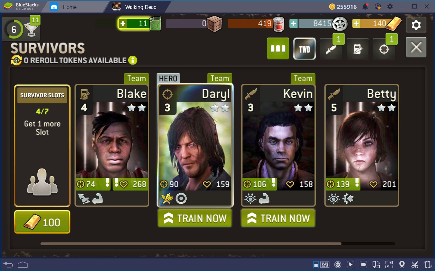 A Guide to Traits in The Walking Dead: No Man's Land
