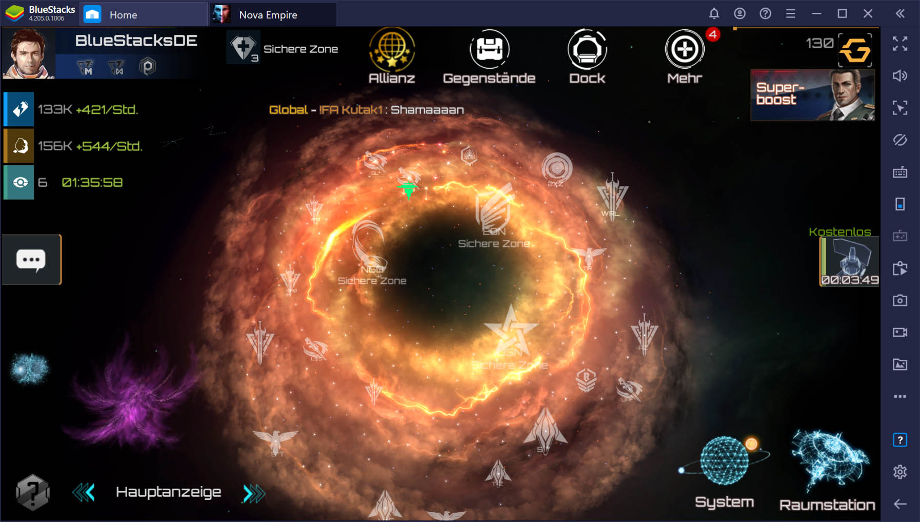 Nova Empire: Space Commander auf dem PC – Anfängerleitfaden für deine Herrschaft über die Galaxie
