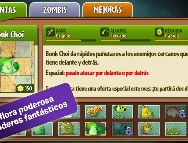 Juega Plants vs Zombies 2 on pc 8