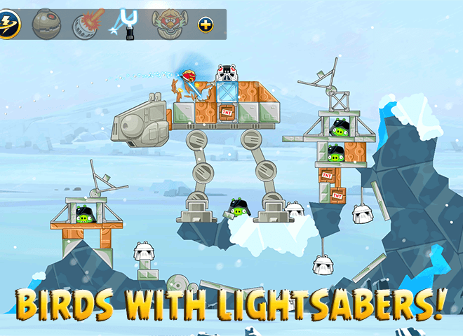 Play Angry Birds Star Wars on PC 3