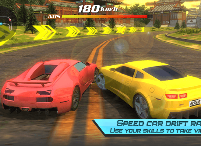 Play Drift car city traffic racer on pc 7
