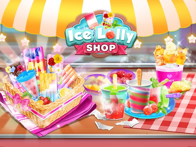 Chơi Ice Cream Lollipop Maker on PC 12