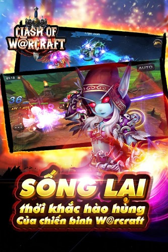 Chơi Clash Of Warcraft on PC 5