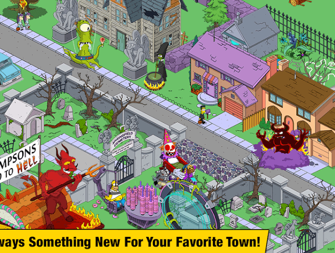 Spustit Simpsons Tapped Out on PC 5