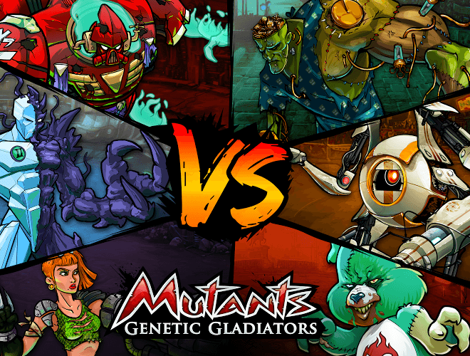 Играй Mutants Genetic Gladiators on pc 8