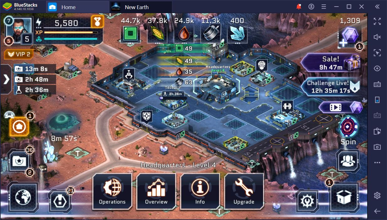 Play Operation: New Earth on PC with BlueStacks