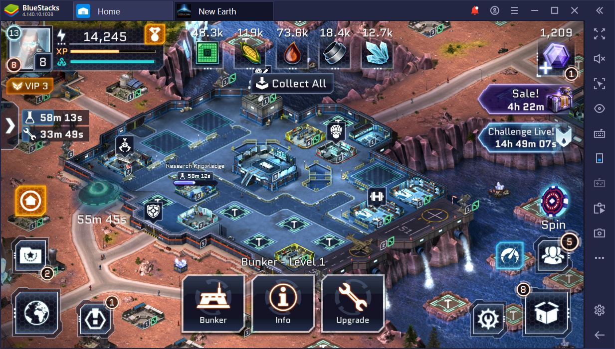 Operation: New Earth on PC– The First Line of Defense Against Aliens