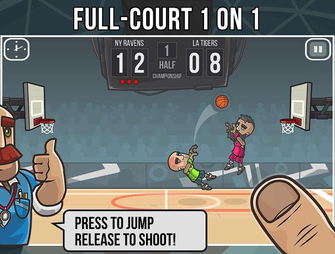 Play Basketball Battle on PC 2
